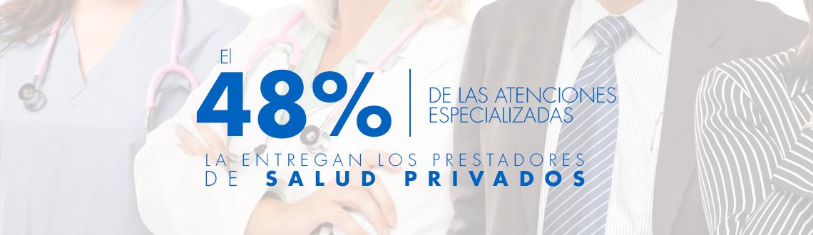 48% de atenciones personalizadas en sector privado